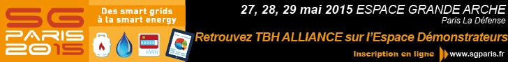 Salon Smartgrids Paris 2015, retrouvez TBH Alliance sur l'espace demonstrateurs