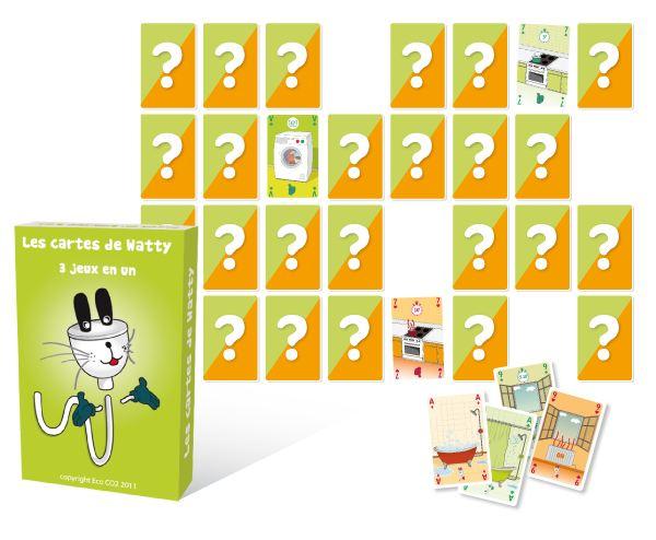 jeu de cartes de watty