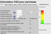 calculette CO2 paroisse