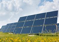 Ferme solaire photovoltaique