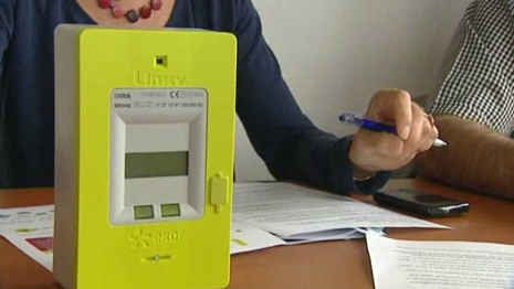 Generalisation des compteurs Linky (image France 3)