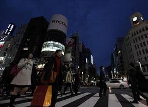 Lumieres au Japon, economies energie