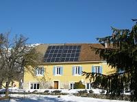 Solaire photovoltaique dans le Campsaur