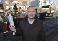 plastique recyclé dans asphalte à Vancouver