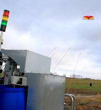 cerf-volant produisant de l'électricité