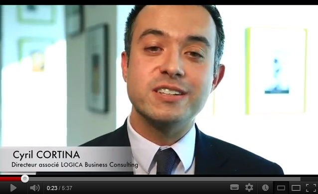 Cyril Cortina, Logica Business Consulting