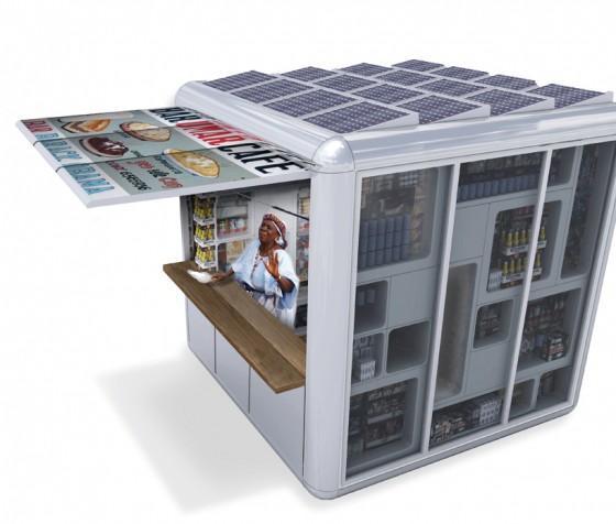 Kiosque solaire en Ethiopie