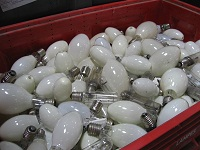 Lampes à recycler