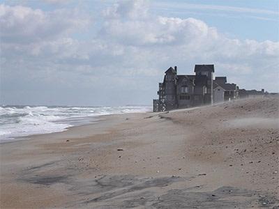 augmentation du niveau de la mer - global warming