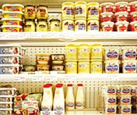 Rayon frais produits laitiers