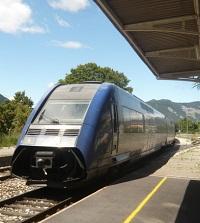 recuperation de l'energie de freinage des trains