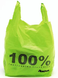 sacs Auchan 100% recyclables