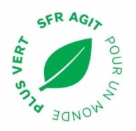 SFR plus vert logo