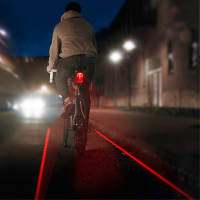 Bandes cyclables lumineuses