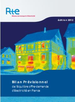 bilan 2012 RTE offre demande électricité