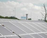 Ferme solaire à Roissy