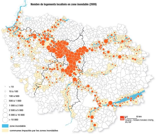 carte zones inondables ile de france