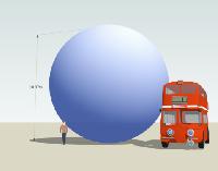 ballon bleu