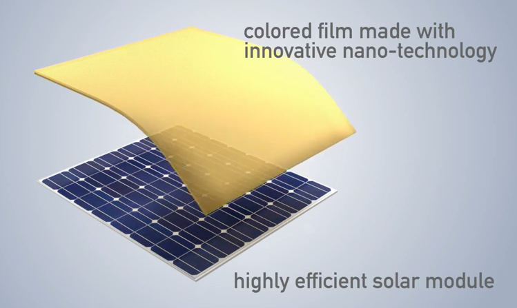 panneaux photovoltaiques blanc ou en couleur