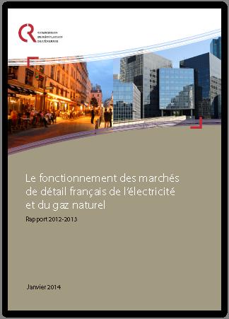 Rapport CRE sur les marchés de détail du gaz en France