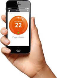 Nest, l'application mobile