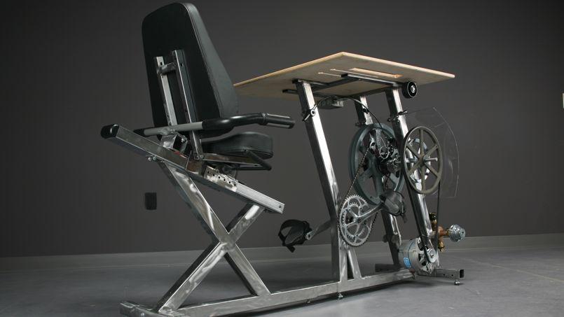 vélo bureau conçu aux US