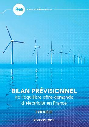 bilan prévionnel 2015 - RTE