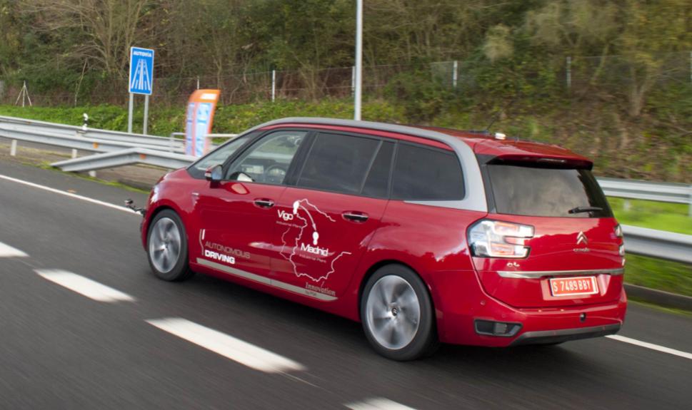 vehicule autonome PSA