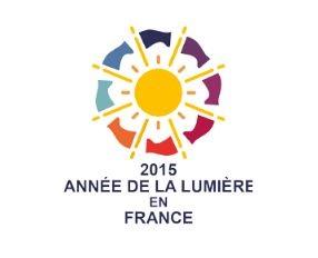 logo, année internationale de la lumière