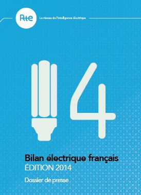 bilan RTE 2014, réseau électrique français