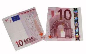 billet de banque 10 euros, déchiré