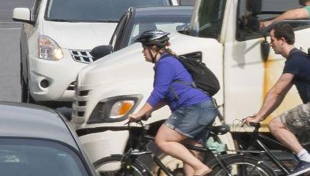 circulation urbaine et vélos