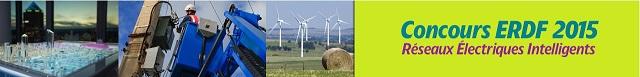 concours erdf 2015, réseaux électriques intelligents