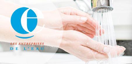 logo les entreprises de l'eau