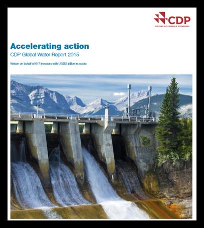 Global Water Report 2015 - CDP