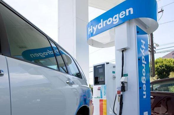 borne de recharge en hydrogène