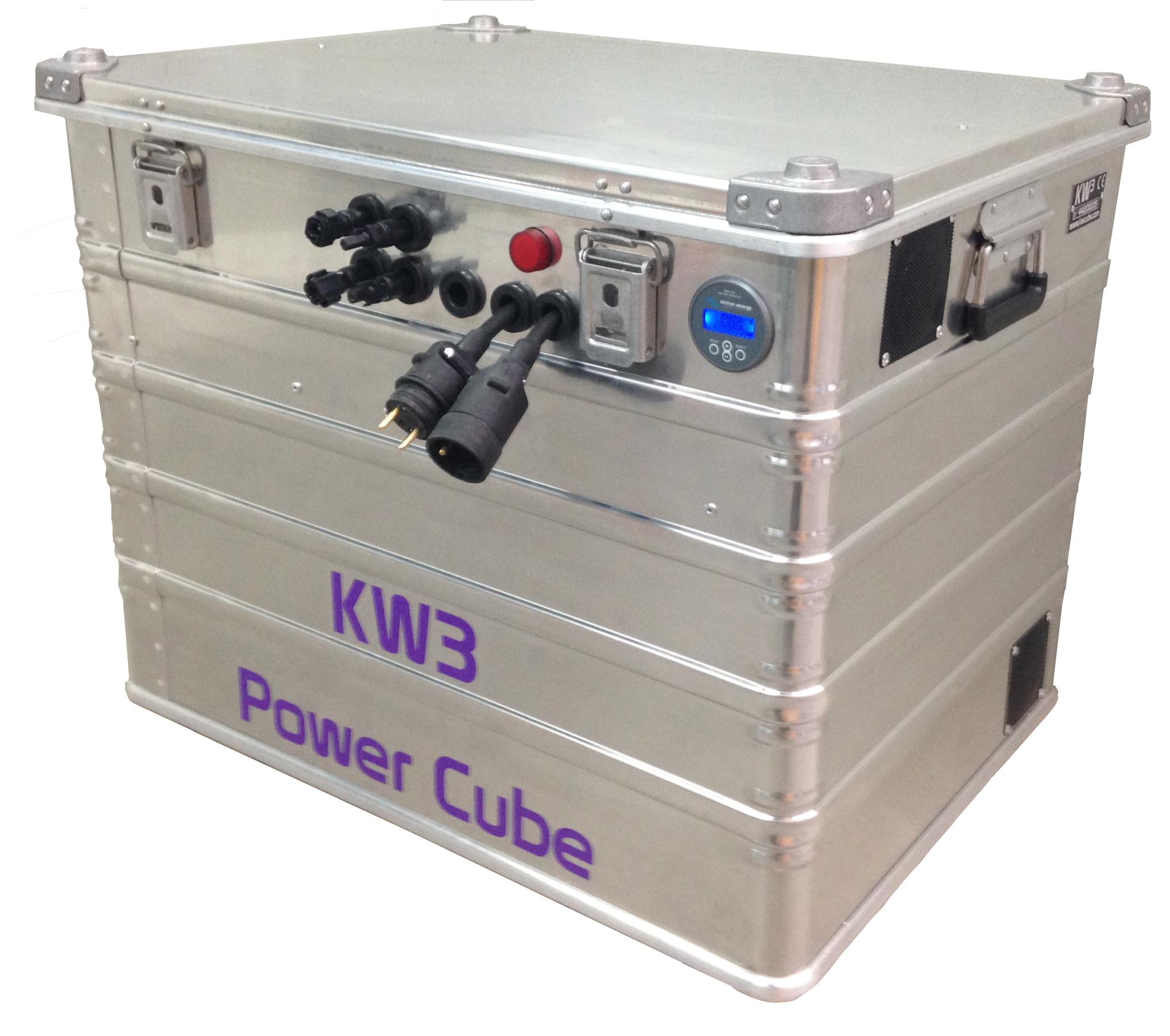 Power cube dans sa caisse