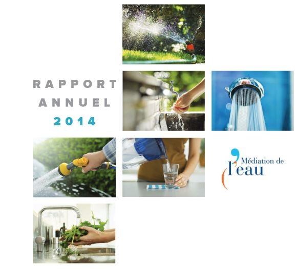 RAPPORT 2014 du médiateur de l'eau