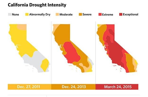 sécheresse en californie