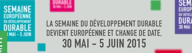 semaine du developpement durable 2015