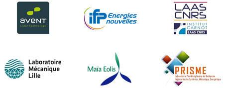 projet smarteole, logos des partenaires