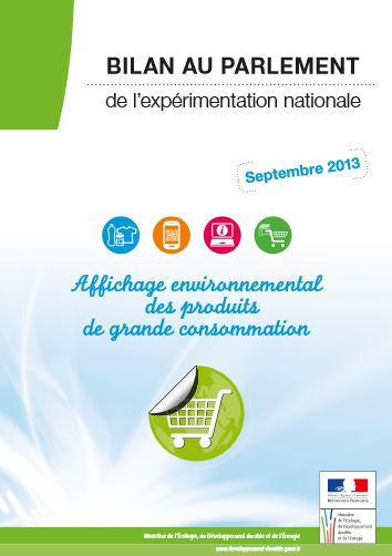 bilan national du dispositif d'affichage environnemental