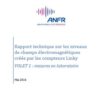 ANFR Rapport de mesure Linky