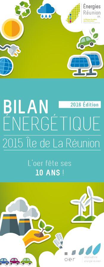 bilan énergétique de l'ile de la réunion - édition 2016