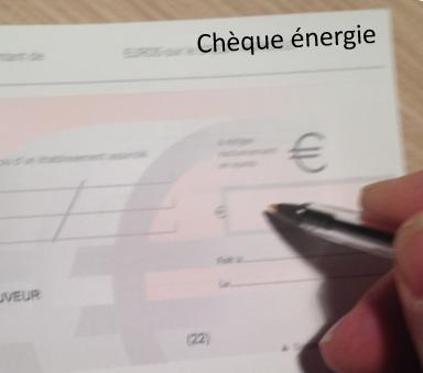 cheque énergie