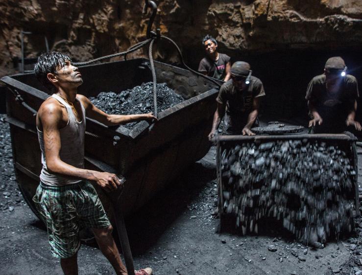 mines de charbon en Chine