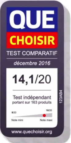 affichage du test comparatif que choir sur son site