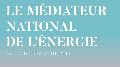 rapport d'activites du mediateur de l'energie