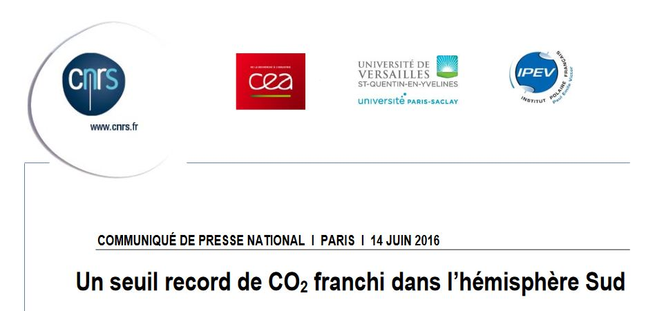 seuil record CO2