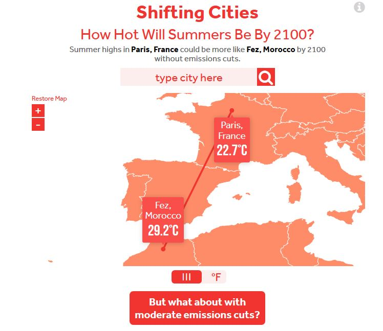 shifting cities 2100